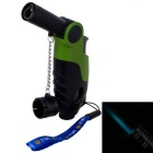 Outdoor Creative Soldering Gun Shaped Butane Light - Green
