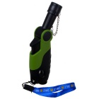 Outdoor criativo solda Gun Shaped butano Light - Verde