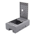 Geekworm Logo Type ABS Case for Raspberry Pi 3 Model B Board - Grey