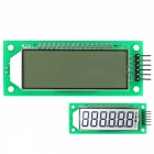 2.4'' 6-Digit 7 Segment LCD Display Module White Backlit for Arduino