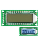 1.4'' 6-Digit 7 Segment LCD Display Module White Backlit for Arduino