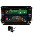 "Junsun 7"" HD Car DVD Player w/ Radio, GPS, FM/AM, BT, AVIN, EU Map"