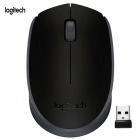 Logitech genuino M171 Wireless Mouse de Juego w / Receptor - Negro + Gris