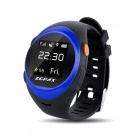 ZGPAX S888 Elder GPS Tracking Watch Phone w / Anti-fall Alarm - синий