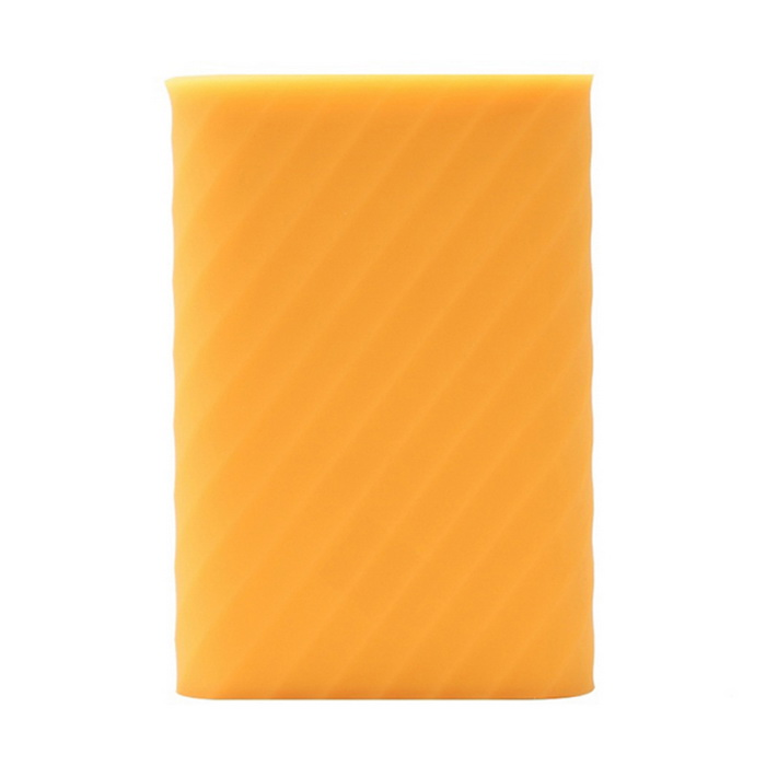 Silicone Protective Cover for Xiaomi 10000mAh Power Bank - Orange