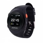 ZGPAX S888 Elder / Kids GPS Watch Phone w / Anti-falling Alarm - Black