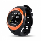 ZGPAX S888 Elder GPS Watch Phone w/ Anti-falling Alarm - Orange