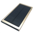 "SUNGZU Universal Dual-USB ""10000mAh"" Solar Energy Power Bank - Golden"