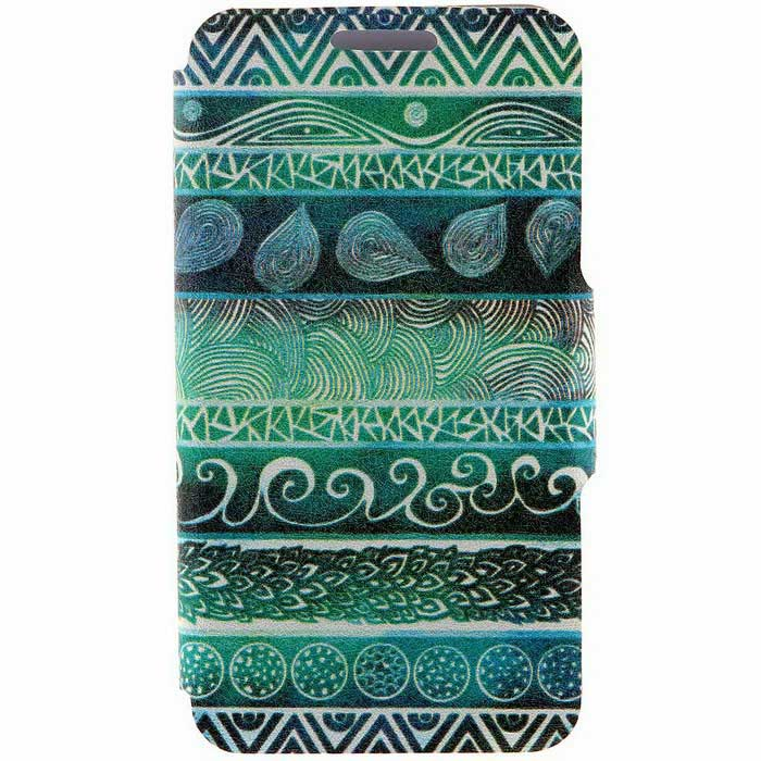 Kinston KST259 Totems Pattern PU Leather for iPhone SE/ 5 / 5S - Green