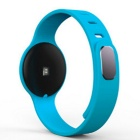 H18 Heart Rate Bracelet Bluetooth V4.0 Intelligent Bracelet - Blue