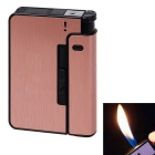Stylish Ultra-thin Auto Cigarette Lighter - Bronze