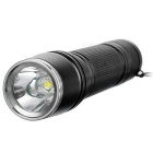 Cool Change T6 5-Mode Bluish White Bicycle Flashlight - Noir + Argent
