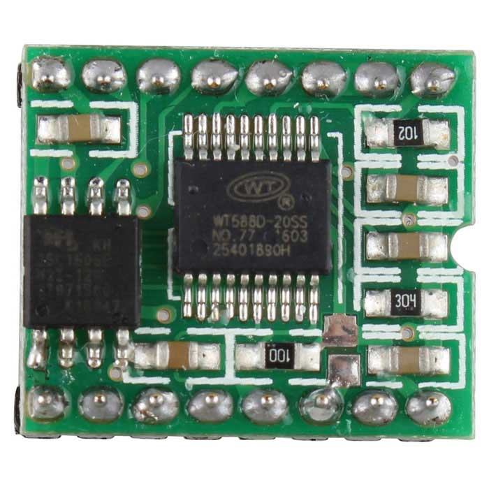 WT588D 16P 8M Memory Voice Module Sound Module Audio Player