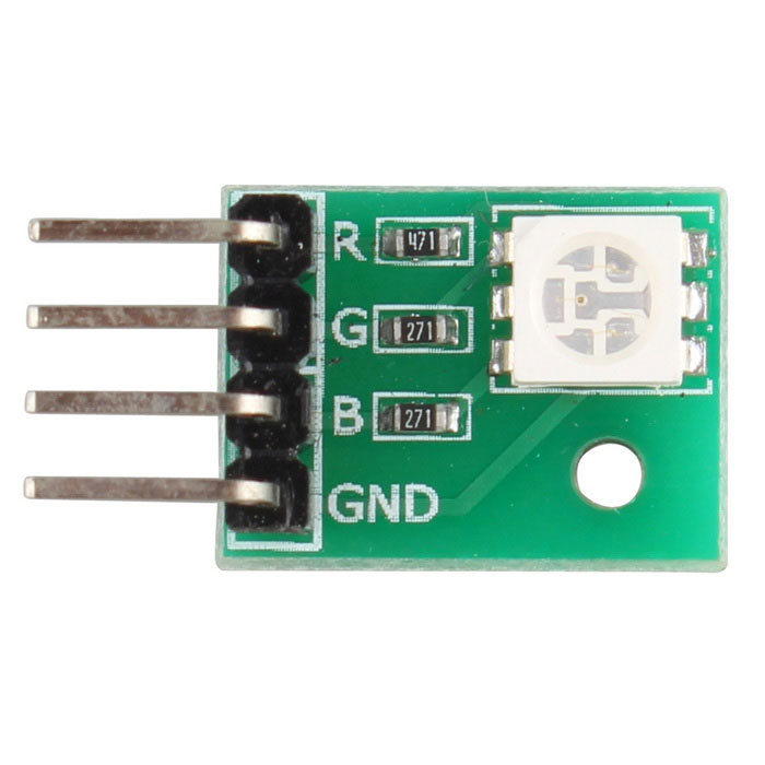 SMD 5050-SMD RGB módulo de 3 colores LED - verde + multicolor