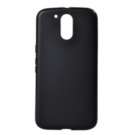 Protective TPU Back Case for MOTO G4 Plus - Black