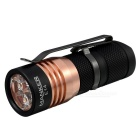 MANKER E14 XP-G2 4-LED 1600lm Cool White Flashlight w/ Clip - Black
