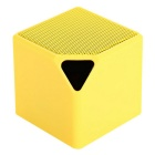 MiniX3 Wireless Bluetooth V4.0 Sound Audio Speaker - Yellow