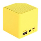 MiniX3 Wireless Bluetooth V4.0 Áudio Alto-falante - Amarelo