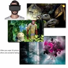 Virtual Reality Glasses 3D Game Glasses - Black