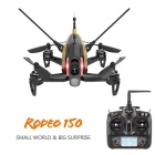 Walkera Rodeo 150 FPV 600TVL Camera DEVO 7 RC Quadcopter RTF - Black