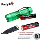 FandyFire SK68 XR-E 3-Mode 289lm Cold White Flashlight - Green