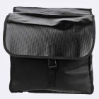 ROSWHEEL 14031-A Bicycle Rear Rack Bag Pannier Bag - Black (28L)