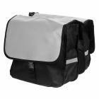 Durable Bicycle Rear Rack Pack / Back Seat Carrying Bag w/ Reflective Strap for Cycling