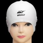 SPRING SWHALE 3D Ears Protection Silicone Swimming Cap - White