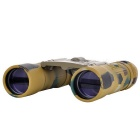 Arboro Portable 10X 25mm Jumelles - Camouflage Sable