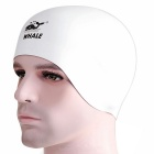 SPRING SWHALE Double Side Wearable Swimming Cap - White + Black