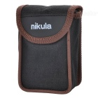 NIKULA 6X 18mm Fixed Focus Binoculars - Black + Silver
