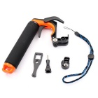 Pistolet Trigger Flottant Poignée Pole Grip Set - Noir + Orange Rouge