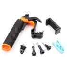 G-1050 Floating Handle Grip for GoPro Hero 4 / 3+ - Black + Orange