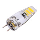 YWXLight G4 1.5W 6-5730 SMD Warm White LED Silicone Light Bulb