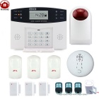 AG-security DP-500 Wireless LCD GSM alarm Detektor System (EU Plug)