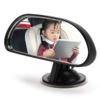 IZTOSS AP193 Car Rear View Baby Back Seat Mirror w/ Suction Cup- Black