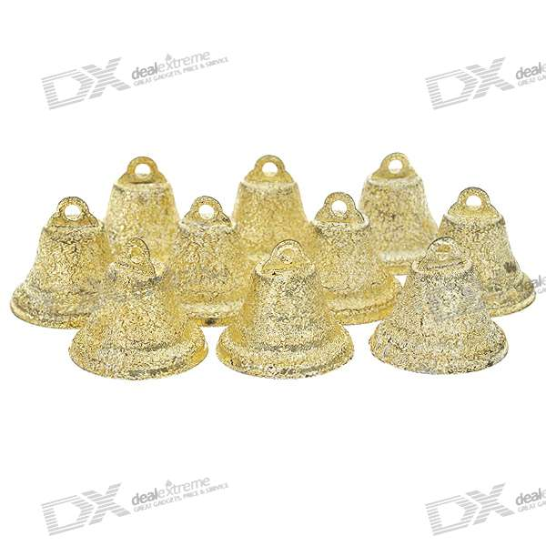 Horn Shape Ringing Bells - Gold (50-Piece Pack)