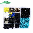15 Types Car Van Door Bumper Retainer Clip Fastener Rivet Kit (278PCS)