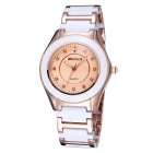 WEIQIN 273503 Fashion Stainless Steel Case Wrist Watch - Gold