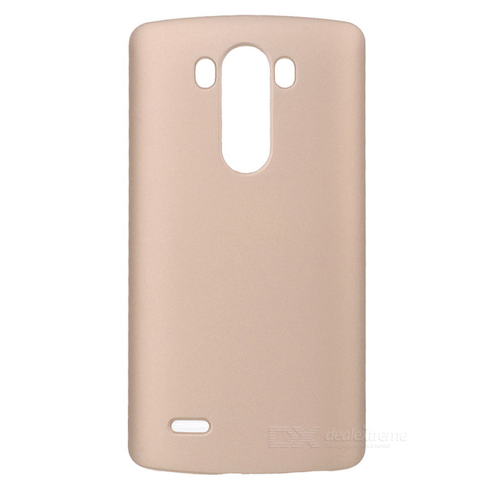 Protective Plastic Back Case for LG G3 - Gold