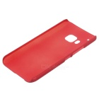Protective Plastic Back Case for HTC M9 - Wine Red