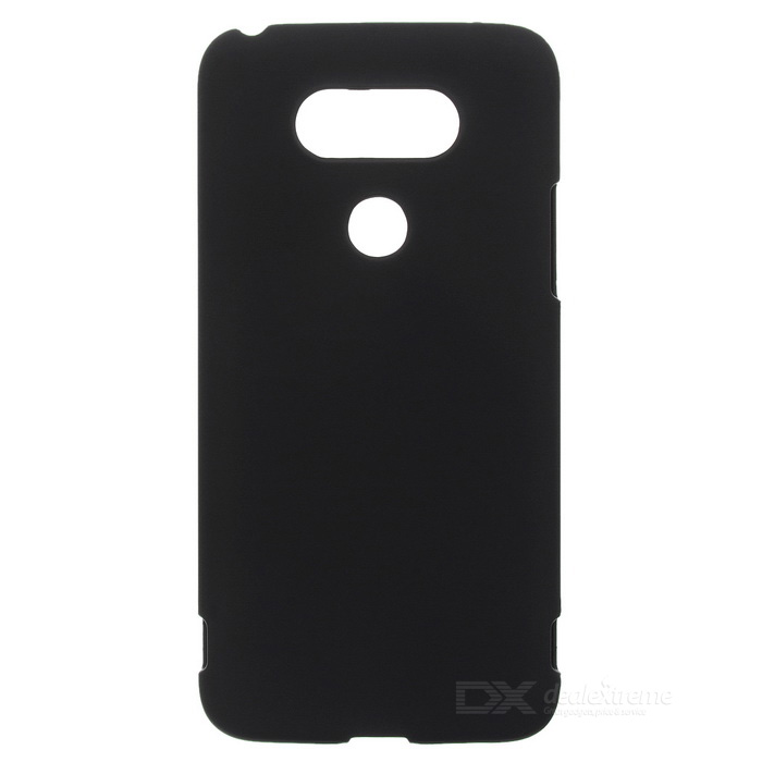 Protective Plastic Back Case for LG G5 - Black