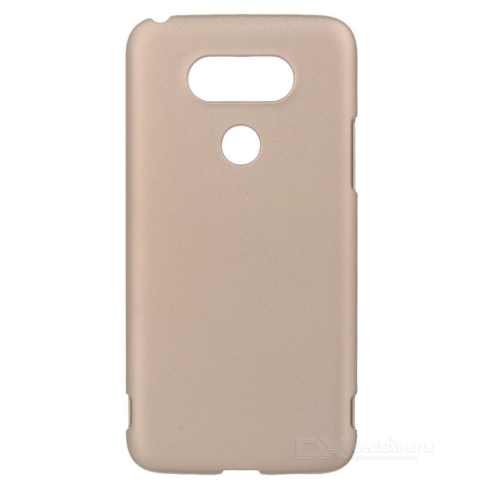 Protective Plastic Back Case for LG G5 - Golden