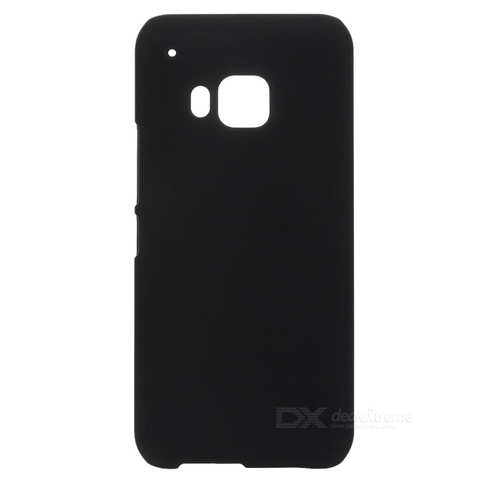 Protective Plastic Back Case for HTC M9 - Black