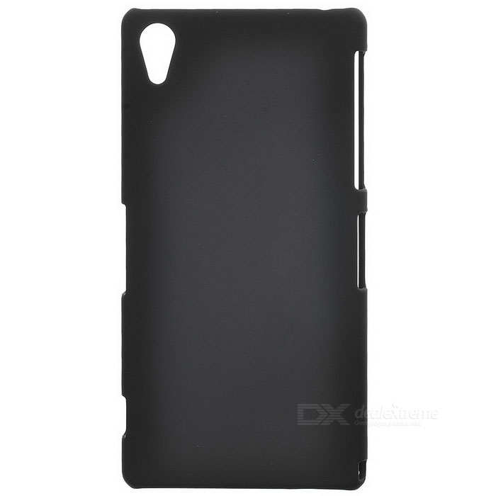 Protective Plastic Back Case for Sony Z2 - Black