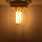 KWB E27 4W Edison filamento luce bianco caldo High Light (AC 220 ~ 240V)