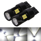 MZ 7443 T20 10.5W 21-2835smd Cool White LED Car Brake Lights 12~24V