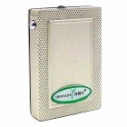 Innovative Poker Style Lighter with Counterfeit Detector Lamp - Silver