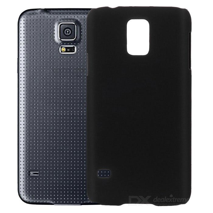 Protective Plastic Back Case for Samsung S5 - Black