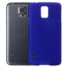 Protective Plastic Back Case for Samsung S5 - Dark Blue